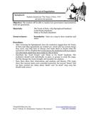 1304-15 The Treaty of Paris (Grades 3-5)