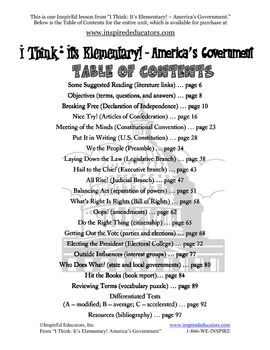 1305-2 Articles of Confederation (Grades 3-5)