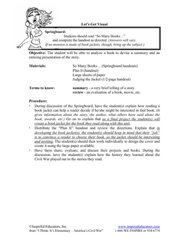 1307-16 Civil War Book Report
