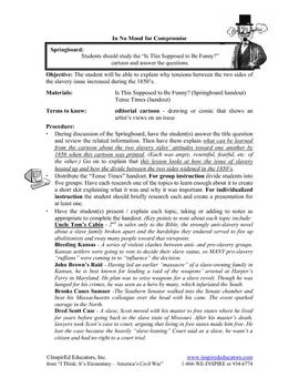 1307-5 The 1850's and Slavery - John Brown, Bleeding Kansas and More