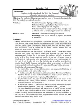 1307-9 The Civil War - New War Technologies and Death Tolls