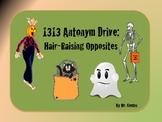 1313 Antonym Drive: Hair-Raising Antonyms