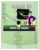 132 Page Language Arts & Grammar Lessons - Common Core Standards