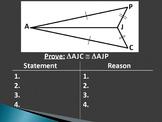 1.3.2 SSS Triangle Congruence