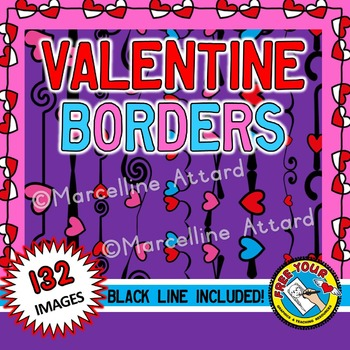 VALENTINES DAY BORDERS AND FRAMES
