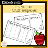 132 mots de haute fréquence || 132 High Frequency Words - FRENCH