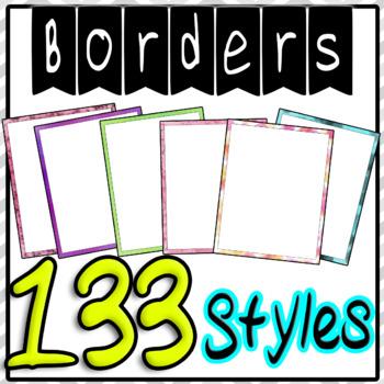 Frames Borders Lots Huge Bundle For PowerPoint or TeacherspayTeachers Product133