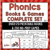 Phonics Books & Games: Complete Bundle