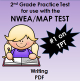 134 Question Practice Test for NWEA MAP Writing Testing 166-202 RIT Range