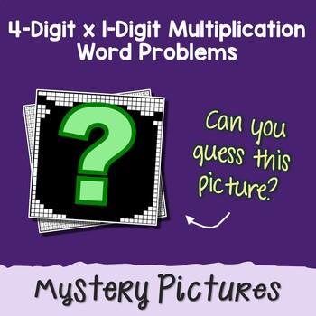 Multi-Digit Word Problems Multiplication 4 Digit By 1 ...