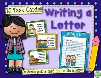 135 Writing Task Cards