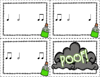 Poof! A Rhythm Game to Review Half Note and Half Rest