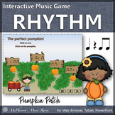 Fall Music Game: Eighth Notes Interactive Rhythm Game {Patch}