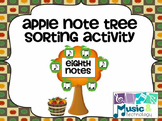 Apple Note Tree Sorting Activity