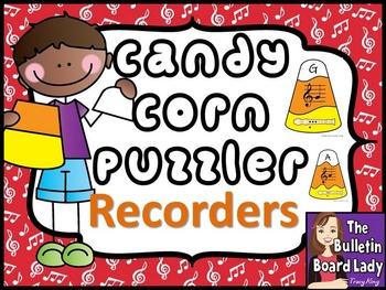 Candy Corn Music Puzzle BUNDLE
