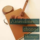 13th, 14th, and 15th Amendment Lesson Plan