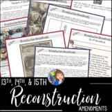13th, 14th, and 15th Reconstruction Amendments