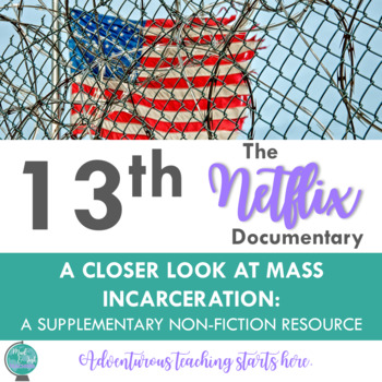 13th:  A Netflix Documentary on the History of Mass Incarceration {A Film Guide}