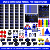 Huge Blue First and Last Day of School Signs & Printable Photo