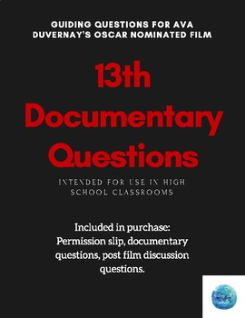 13th Documentary Question Guide