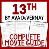 13th Movie by Ava DuVernay Guided Documentary Questions: All Profit Donated