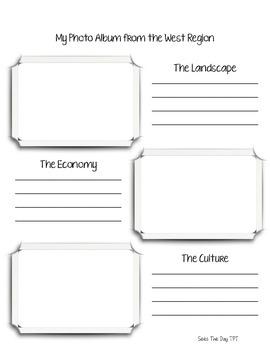 West Region Scrapbook & Notes