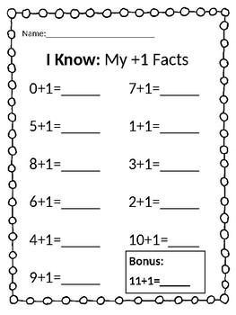 14 Addition Worksheets