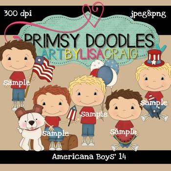 14-Americana Boys 300 dpi clipart