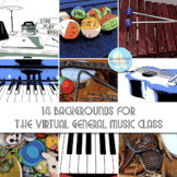 14 Backgrounds for the Virtual General Music Class