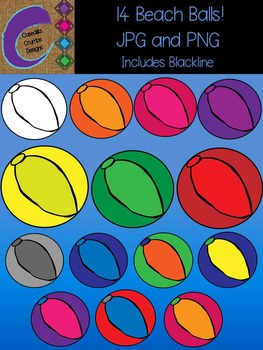 14 Beach Ball Clip Art  Color Images