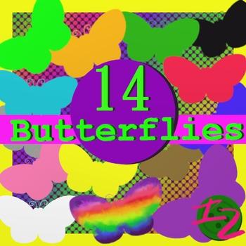 14 Butterflies