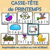 14 CASSE-TÊTE IMPRIMABLE - LE PRINTEMPS (FRENCH - FSL)
