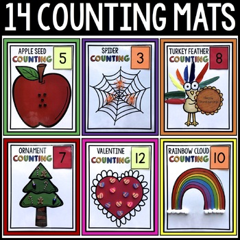 14 Counting Mats (Numbers 1-20)