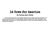 14 Cows for America anticipation guide