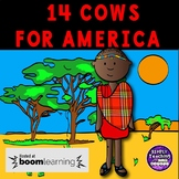 14 Cows for America no prep Digital BOOM CARDS 9/11