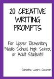 Samantha's Creative Writing Prompts