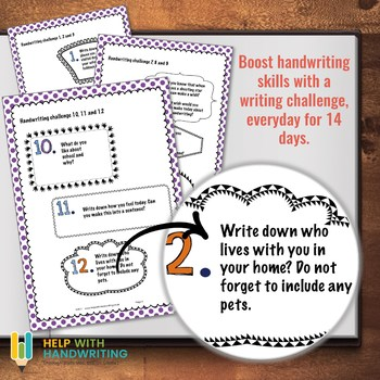 14 Day Handwriting Practice