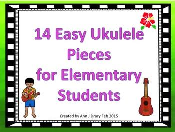 14 Easy Ukulele Pieces for Elementary Students