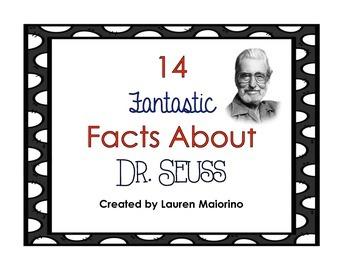 14 Fantastic Facts About Dr. Seuss! - Freebie
