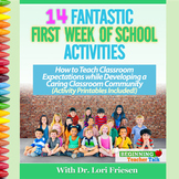 14 Fantastic First Week of School Activities: Teach Routin