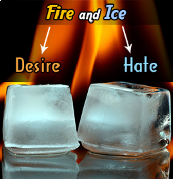 Fire and Ice by Robert Frost Teacher Supplemental Resources Fun Engaging