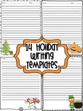 14 Holiday Writing Templates
