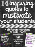 14 Inspiring Classroom Quotes