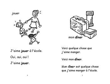 14) quelque chose à l'école - livret de lecture ENFANT C1 Mat. et 1ère