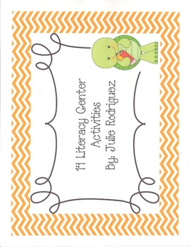 14 Literacy Center Activities