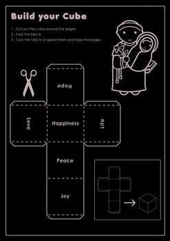 Catholic 14 Page Activity book