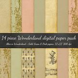Digital Paper - Alice in Wonderland