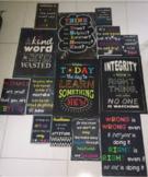 14 Positive Chalkboard Posters