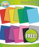 FREE 14 Rainbow Grid Graph Paper Set 2 Clipart
