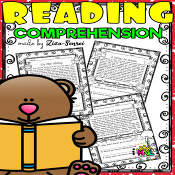 14 Reading Comprehension Worksheets